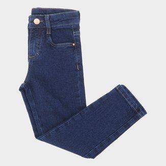 Calça Jeans Juvenil Malwee Skinny Básica Feminina