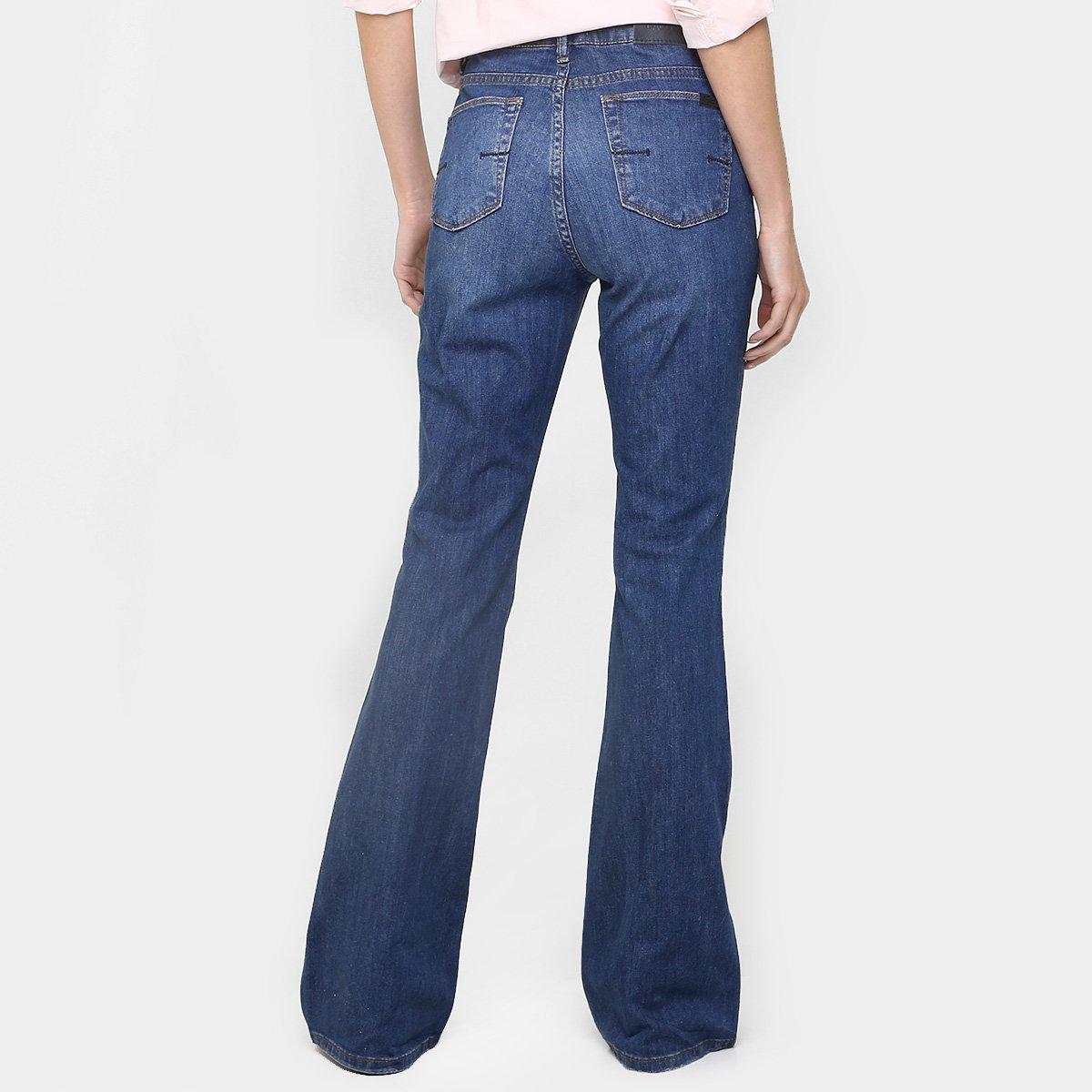 Calça Jeans Lacoste Flare  Calça Jeans Lacoste Flare ... 22ef257e50