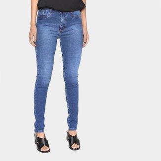 Calça Jeans Lança Perfume Cintura Alta Feminina
