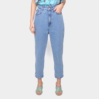 Calça Jeans Lança Perfume Mom Super High Feminina