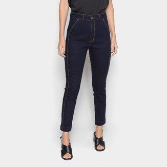 Calça Jeans Lança Perfume Skinny Cintura Média Feminina