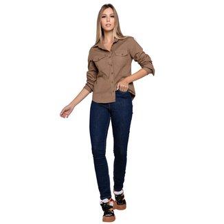 Calça Jeans Latifundio Cintura Alta Skinny Feminina