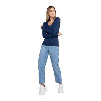 Calça Jeans Latifundio Modelagem Mom Feminina