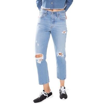Calça Jeans Levis 501 Crop Feminina