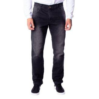Calça Jeans Masculina V12 Slim Preto