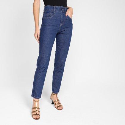 Calça Jeans Mom Biotipo Cintura Alta Feminina