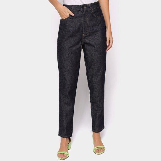 Calça Jeans Mom Colcci Bruna Cintura Alta Feminina  - Azul