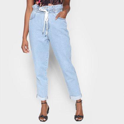 Calça Jeans Mom Colcci Loose Cintura Alta Feminina