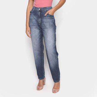 Calça Jeans Mom Ellus Cintura Alta Feminina