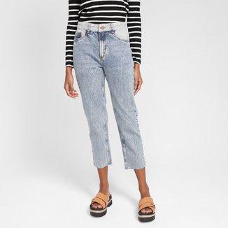 Calça Jeans Mom Oh Boy Cintura Alta Feminina