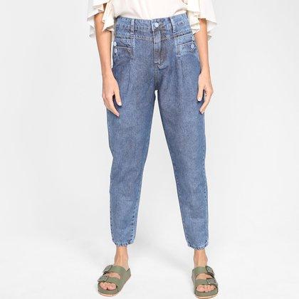 Calça Jeans Mom Sawary Lisa Feminina