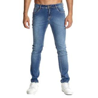 Calça Jeans Osmoze Skinny 101124296 Azul - Azul - 48