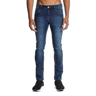 Calça Jeans Osmoze Skinny 101124297 Azul - Azul - 44