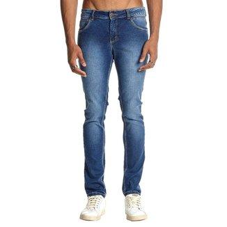 Calça Jeans Osmoze Skinny 101124299 Azul - Azul - 44