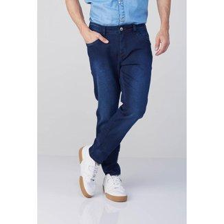 Calça Jeans Osmoze Skinny 5001100057 Azul - Azul - 48