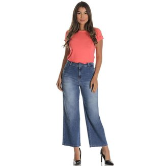 Calça jeans  pantacurt feminina
