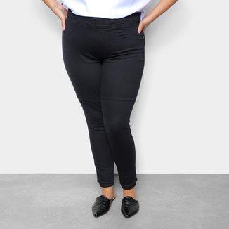 Calça Jeans Plus Size Cambos Jegging Feminina