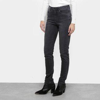 Calça Jeans Razon Estonada Skinny Feminina