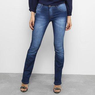 Calça Jeans Reta Biotipo Fit Feminina