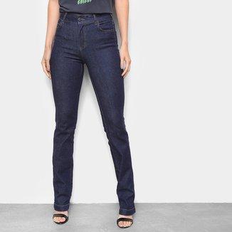 Calça Jeans Reta Colcci Bia Cintura Alta Feminina