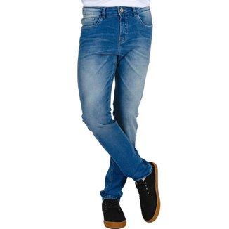 Calça Jeans Rock&Soda Masculina Básica Macia Confortável
