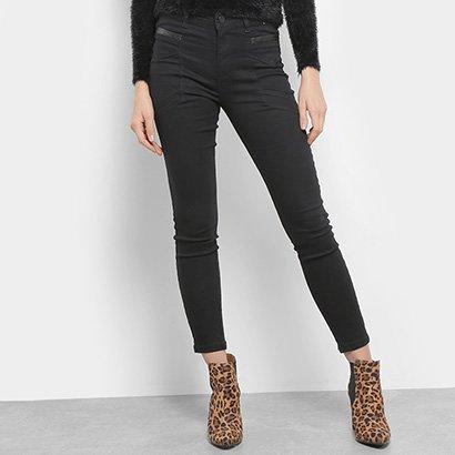 Calça Jeans Sawary Cigarrete Cintura Alta Feminina