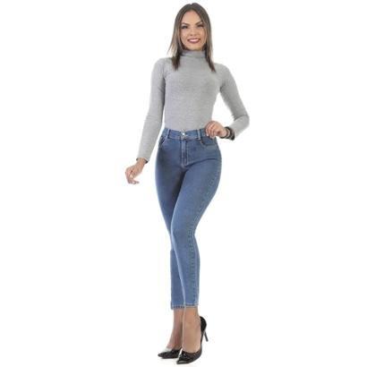 Calça Jeans Sawary Cigarrete Hot Pants 264055 Feminina