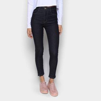 Calça Jeans Sawary Cintura Alta Feminina