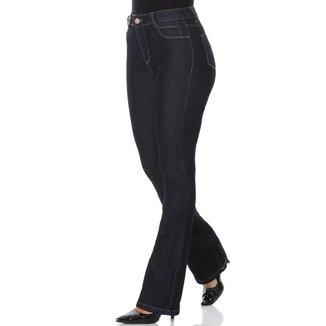 Calça Jeans Sawary Flare Com Lycra 266904 Feminina