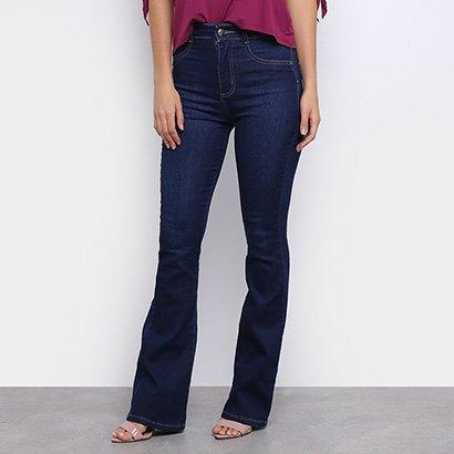 Calça Jeans Sawary Flare Feminina