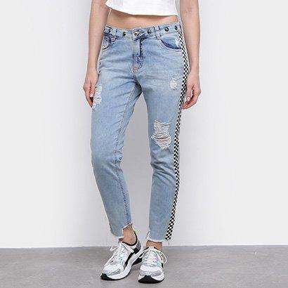 Calça Jeans Sawary Reta Feminina