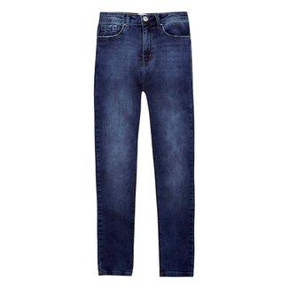 Calça Jeans Sculpted Skinny Cintura Alta Hering Feminina