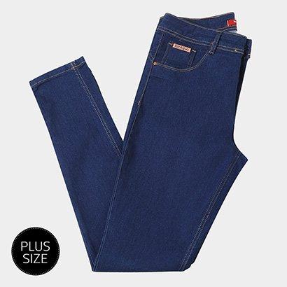 Calça Jeans Skinny Biotiopo Plus Size Feminina-Feminino