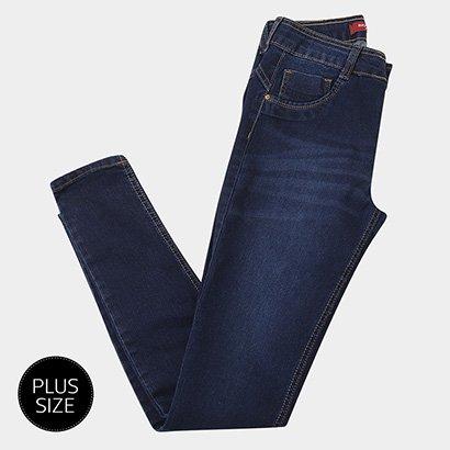 Calça Jeans Skinny Biotipo Aline Plus Size Feminina-Feminino