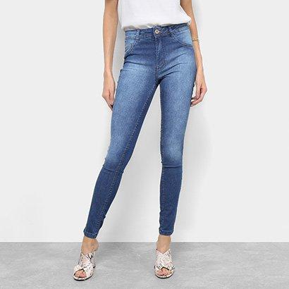 bca98d214 Calça Jeans Skinny Biotipo Cintura Média Feminina-Feminino