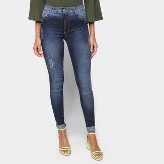 Calça Jeans Skinny Biotipo Estonada Feminina