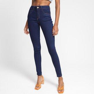 Calça Jeans Skinny Biotipo Lisa Feminina