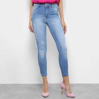 Calça Jeans Skinny Biotipo Melissa Cigarrete Feminina