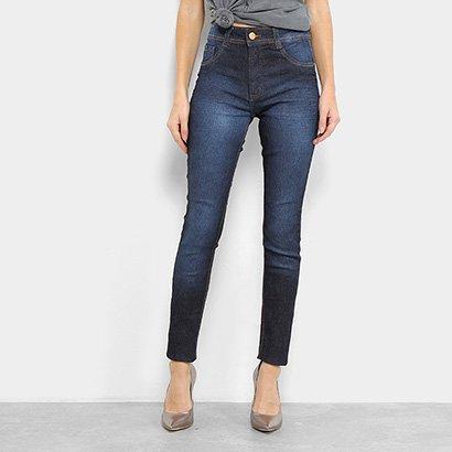Calça Jeans Skinny Biotipo Melissa Cintura Média Feminina-Feminino