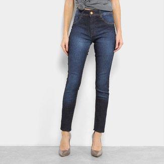 Calça Jeans Skinny Biotipo Melissa Cintura Média Feminina