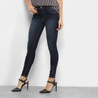 Calça Jeans Skinny Biotipo Melissa Midi Soft Feminina