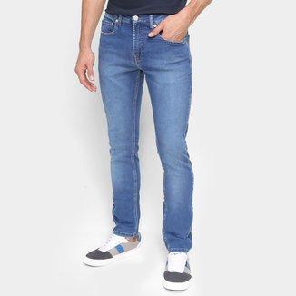 Calça Jeans Skinny Calvin Klein Cintura Média Masculina