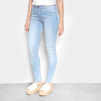 Calça Jeans Skinny Cantão Estonada Feminina