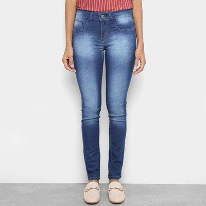 Calça Jeans Skinny Chocomenta Feminina-Feminino