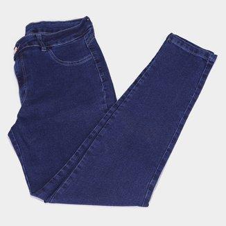 Calça Jeans Skinny Coffee Feminina
