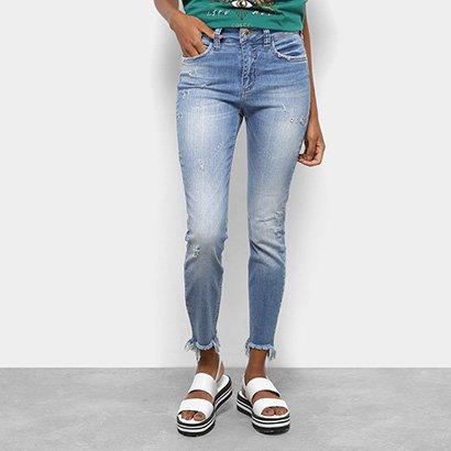0186c7cfc Calça Jeans Skinny Colcci Bia Cintura Alta Feminina-Feminino