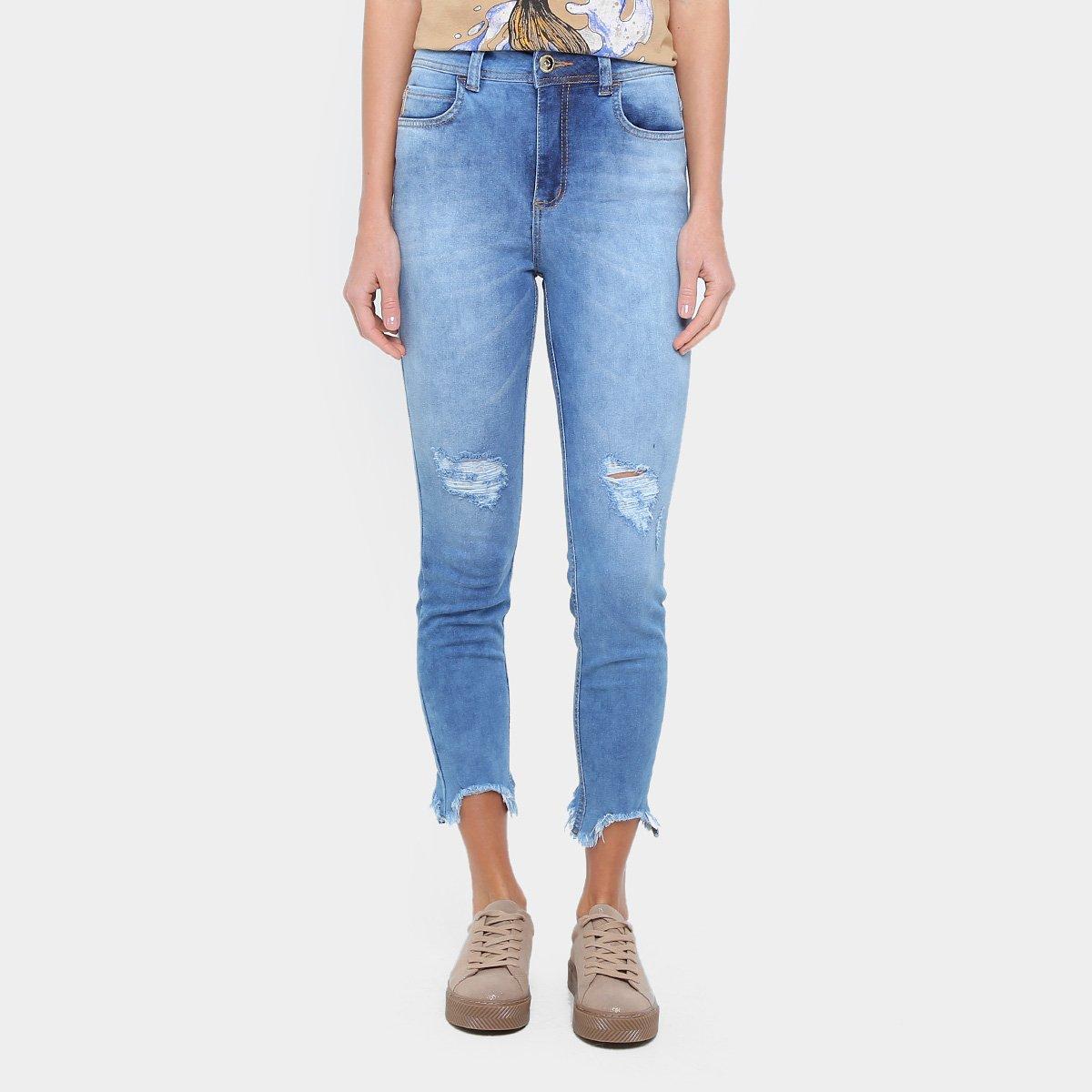 61a3584aa Calça Jeans Skinny Colcci Bia Cintura Alta Feminina - Jeans | Zattini