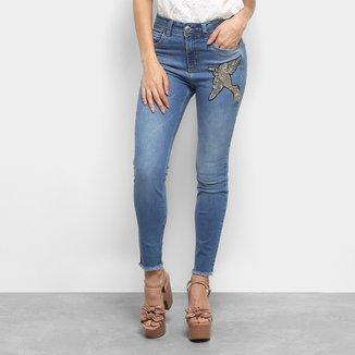 Calça Jeans Skinny Colcci com Bordado Feminina