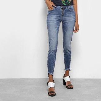 Calça Jeans Skinny Colcci Cory Cintura Média Feminina