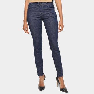 Calça Jeans Skinny Colcci Cropped Cintura Média Feminina
